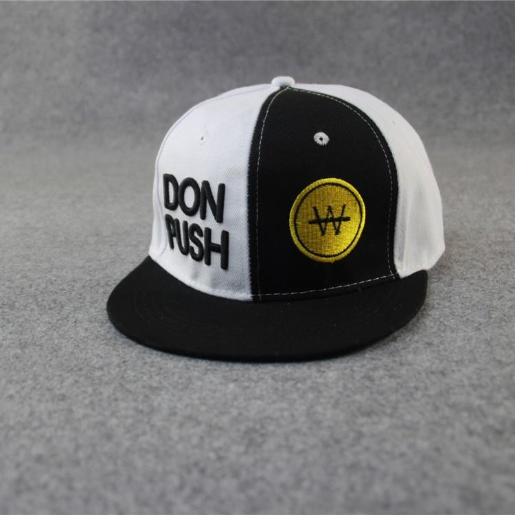 RM03 韓國Running man 宋智孝同款donpush W 棒球帽嘻哈帽韓國潮帽