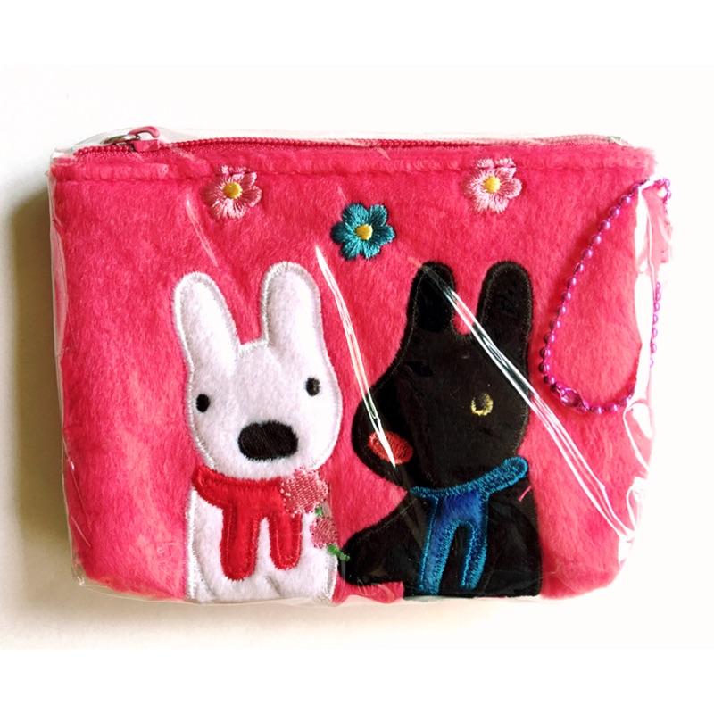 ~麗莎和卡斯柏Gaspard et Lisa ~桃紅色零錢包