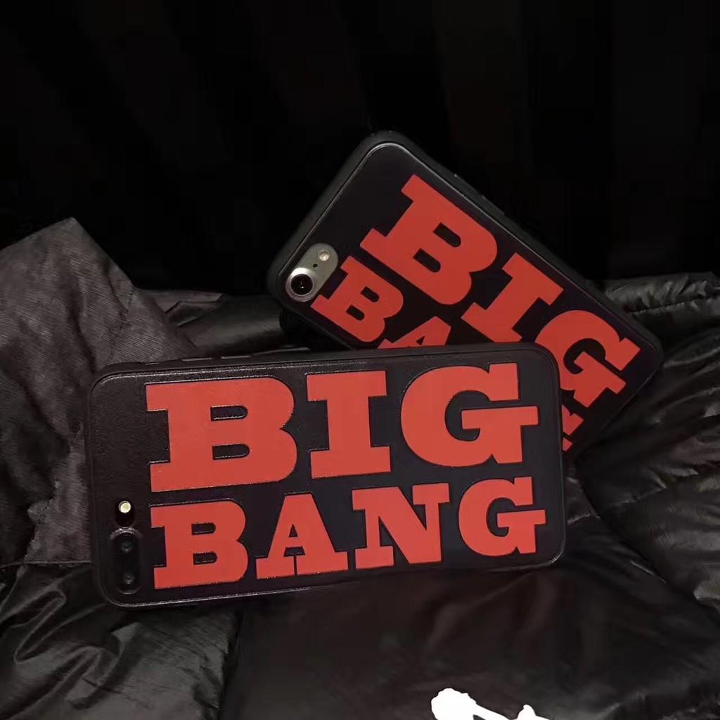 韓國BIGBANG 英文iphone6 手機殼6splus 蘋果7 7plus 保護殼全包