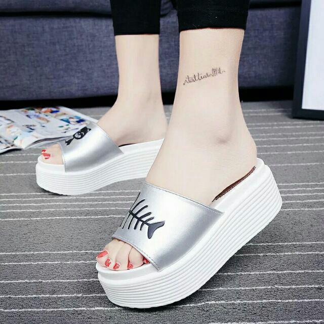 2016 新品一字型凉拖鞋平跟防滑厚底松糕浴室拖鞋沙滩鞋女鞋潮