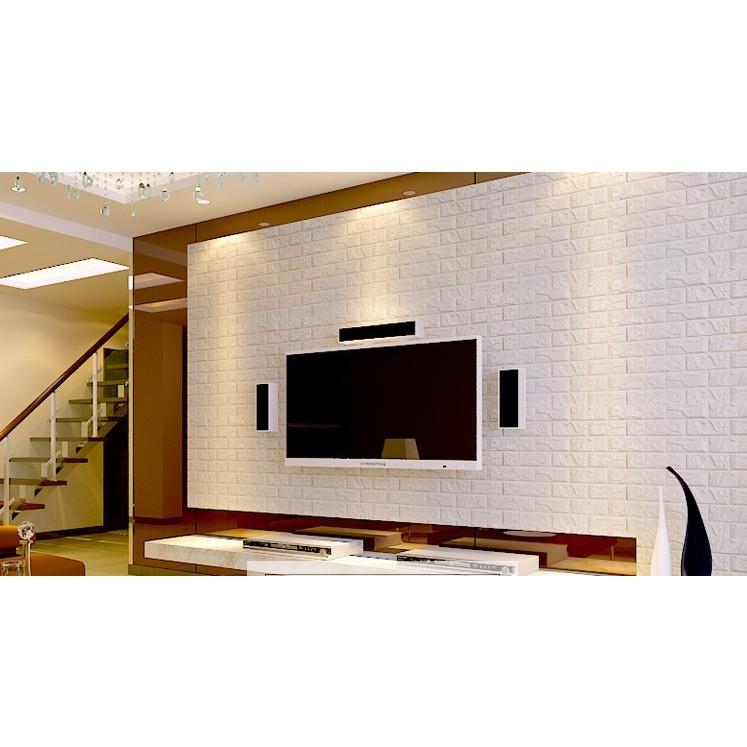 小款30X60 韓國3D 隔音泡棉磚壁貼3D 彈性磚立體磚紋牆貼仿磚海綿防撞環保壁紙