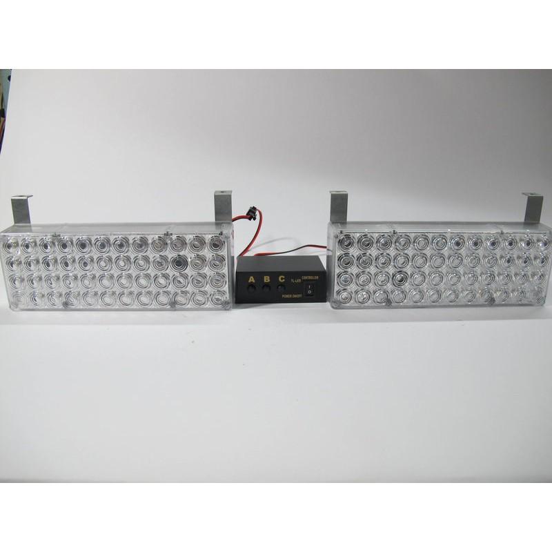 白白一對二大款控制盒LED 爆閃燈警示燈警用燈閃光燈長排燈短排燈日行燈吸頂燈將軍燈閃爍燈工