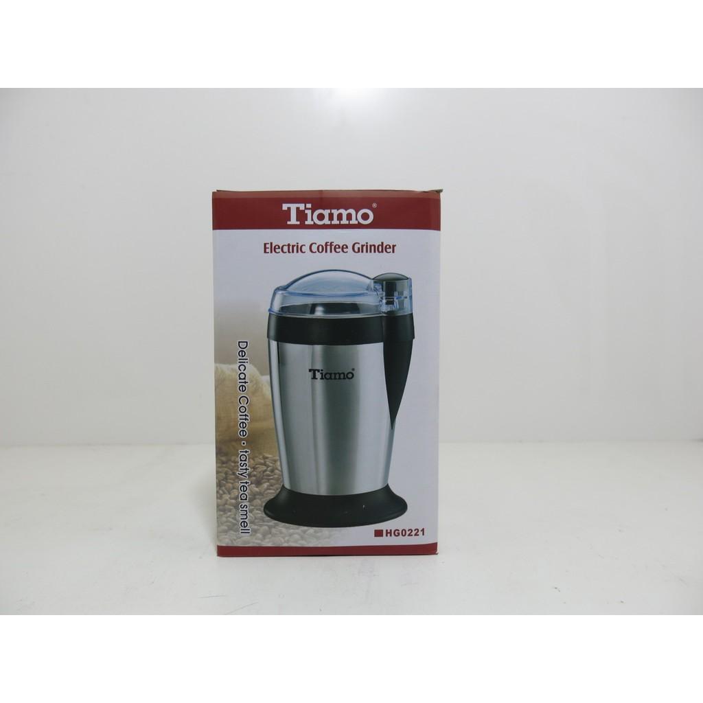 Tiamo 刀片式電動磨豆機研磨機不銹鋼機殼HG0221