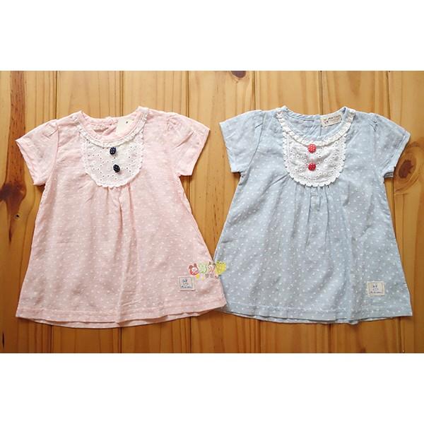 25172 小童款95 100 105 碼日系鄉村風傘狀棉t 恤小洋裝