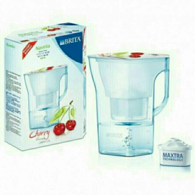 BRITA Navelia 若薇亞型愛奴娜型濾水壺 一顆濾芯