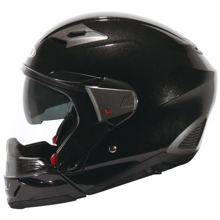 ZEUS ZS 611E 珍珠黑不含下巴~雙層鏡片內層鏡片有效阻擋陽光照射