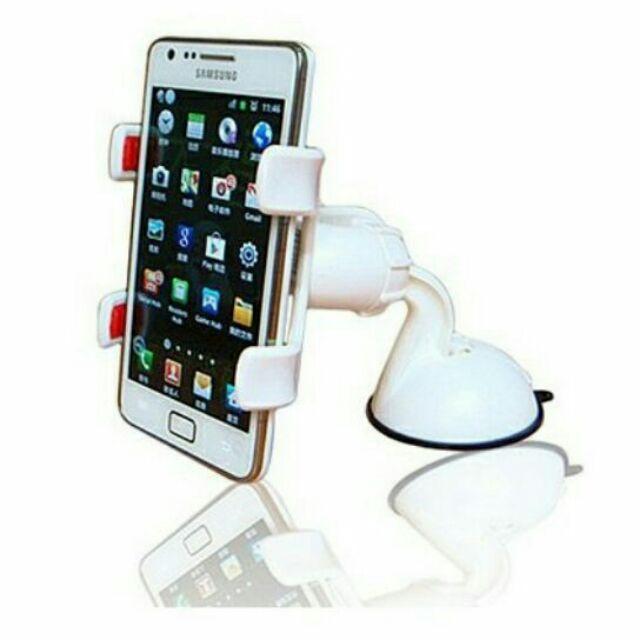 ~雙夾版~車載迷你手機架車用360 °旋轉導航架iphone5 iphone6 iphon