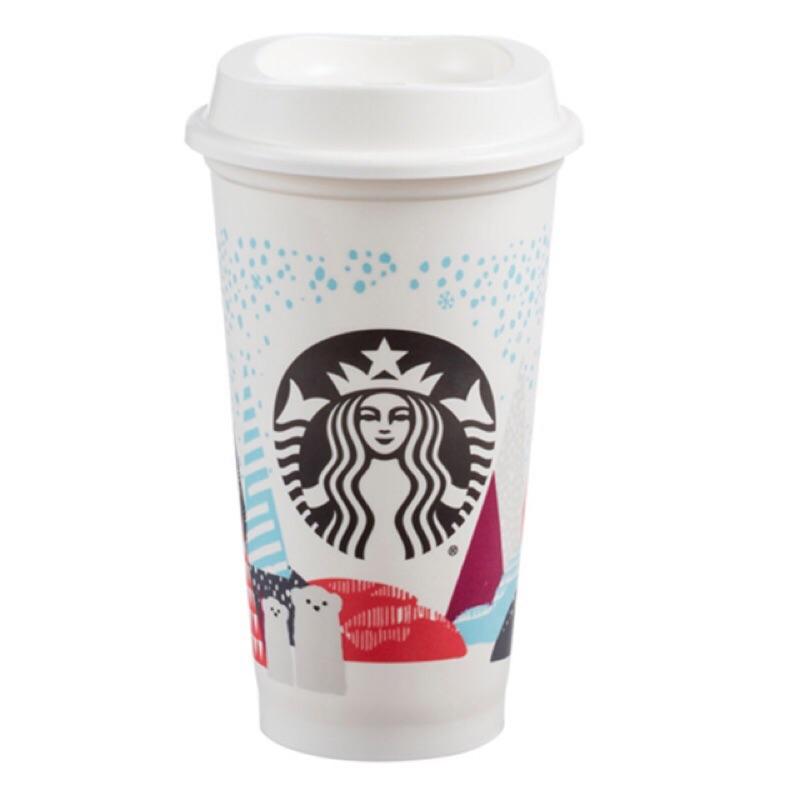 星巴克Starbucks 2016 年聖誕節Kermit 耶誕隨行杯