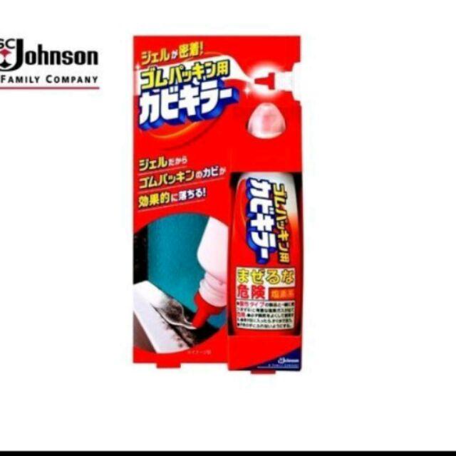 Johnson 矽膠條除霉劑浴廁接縫去污除垢劑100g