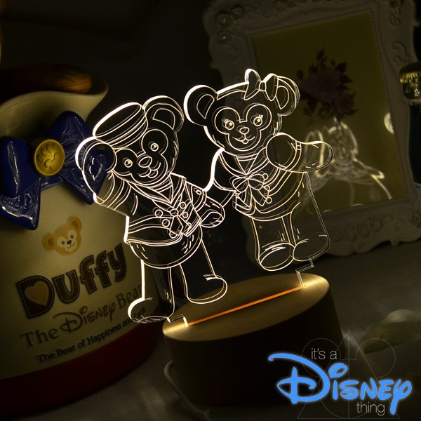 RA Design 3D LED 小夜燈美國 師達菲雪莉玫~ 1280 元~迪士尼史黛拉兔