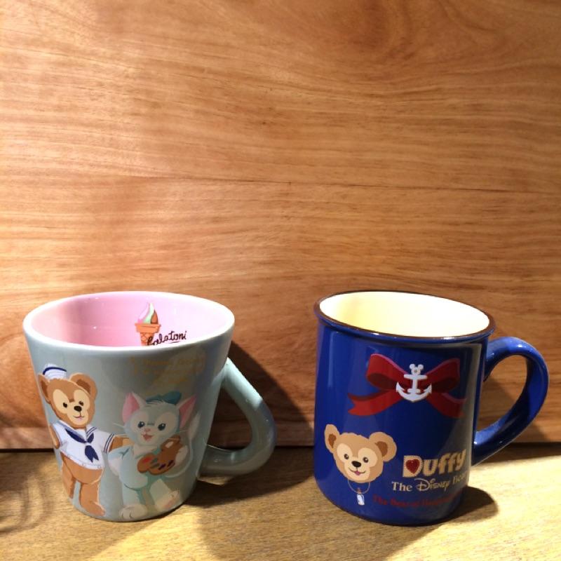 迪士尼Duffy 達菲湯尼雪莉陶瓷馬克杯紅茶杯