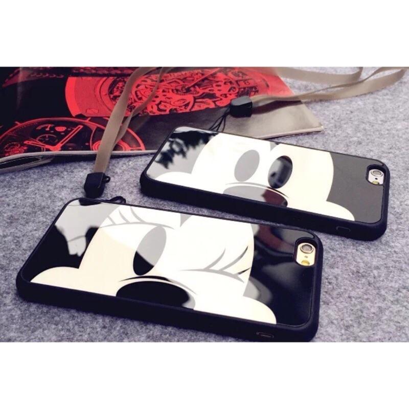 米奇米妮蘋果iPhone5 5s se 全包軟邊殼i6 6s 情侶手機殼i6plus 6s