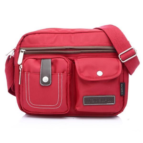 Travel Fox 旅狐西堤全防護側背包紅色藍色 只要699 元 2 個賣完就沒