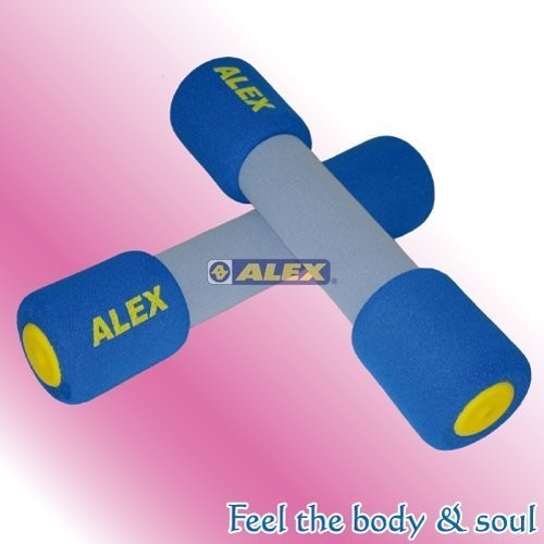 凱溢 用品德國  ALEX 體適能有氧系列C 0704 韻律啞鈴4LB 藍色對