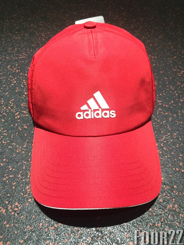 Four22 ®adidas 老帽愛迪達三葉草Originals cap 帽子正品素色紅色