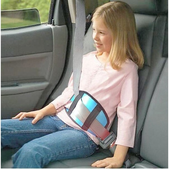 汽車兒童安全帶護墊護套能調整安全帶不怕勒住小孩更好保護