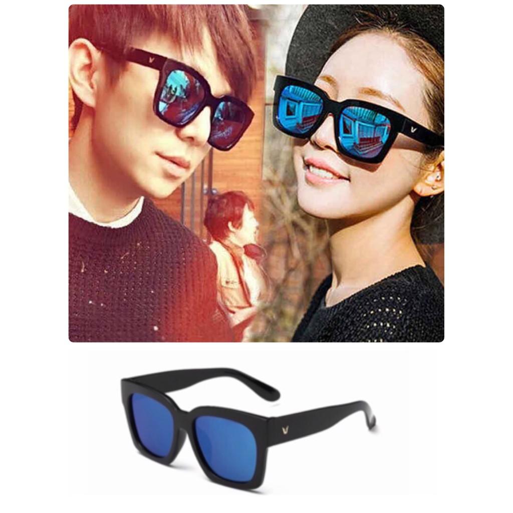 明星同款彩膜太陽眼鏡男女 偏光墨鏡男多色7