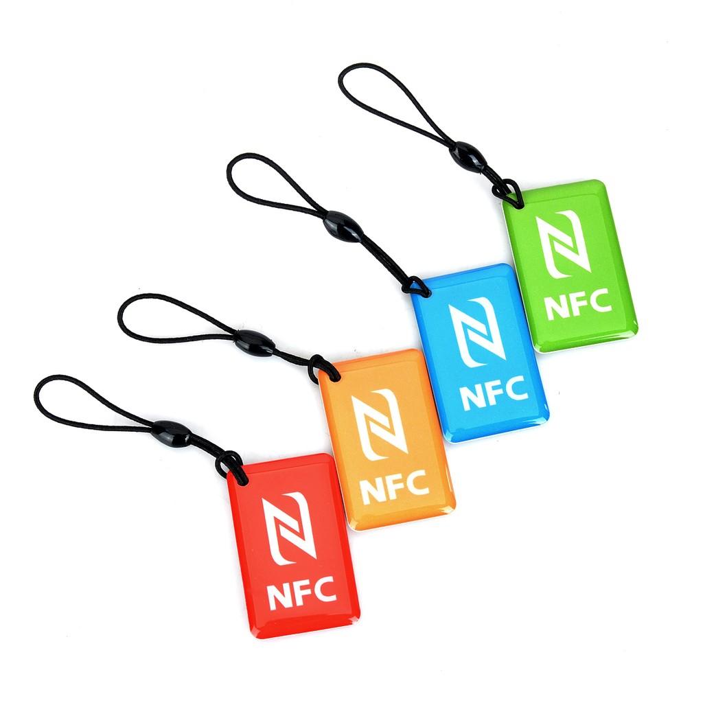 NFC 標籤小米魅族三星黑莓全相容888 位元組NTAG216 顏色:紅綠藍橙