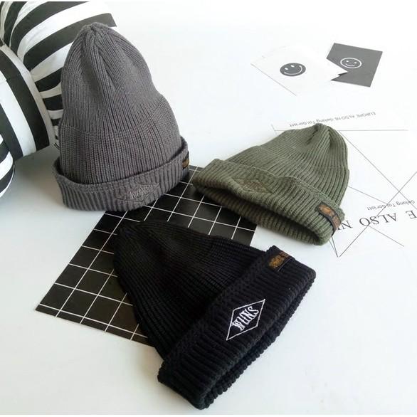 帽子男冬天潮余文樂同款嘻哈針織帽 男士毛線帽子尖頂套頭帽女