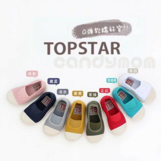 ~ ~~正品~TOPSTAR 韓國慵懶系兒童帆布鞋零碼