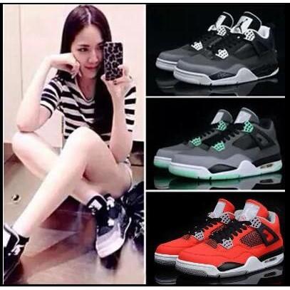 正品 喬丹籃球鞋Air Jordan 4 喬丹4 代男鞋AJ4 喬4 女鞋低幫 鞋休閒鞋男