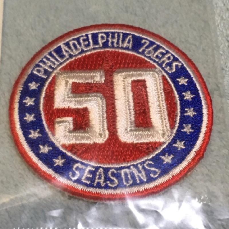 76 人50 週年patch