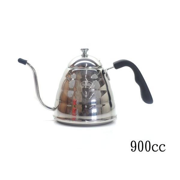 ~304 ~Tiamo 不銹鋼細口壺手沖壺泡茶壺掛耳咖啡電木把手鏡光 電磁爐900ml