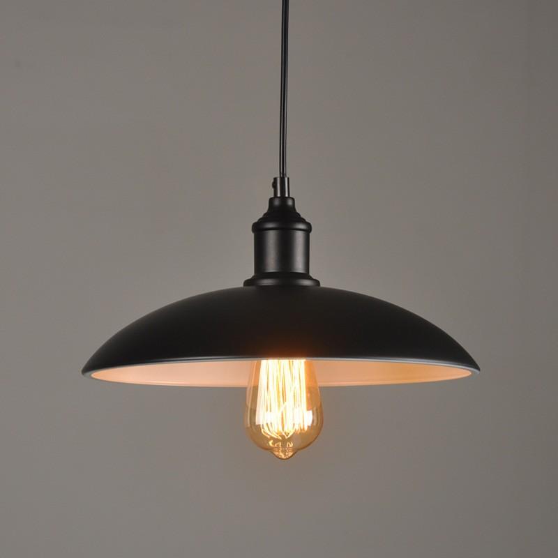 復古吊燈工業風燈罩閣樓餐廳吧台 酒吧咖啡廳鐵藝鍋蓋網吧