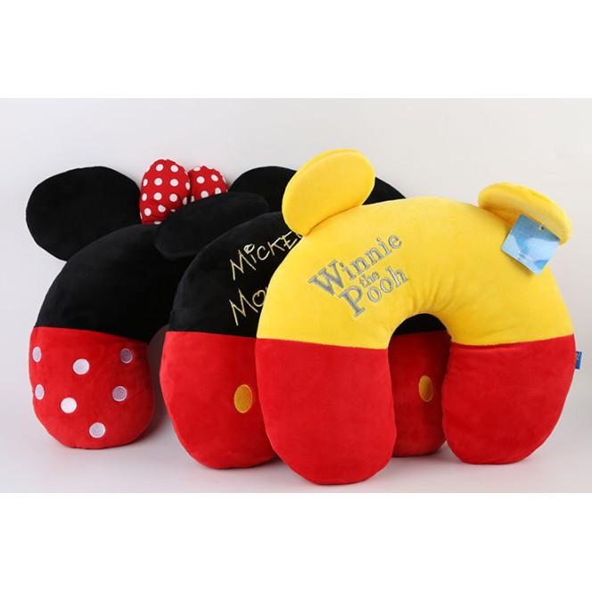 米妮米奇小熊維尼護頸枕U 型枕車枕旅行枕午睡枕迪士尼護頸