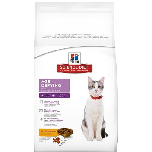 嘉年華寵物希爾思Hill s 抗齡成貓11 歲以上雞肉配方貓糧貓飼料3 5 磅7 磅15