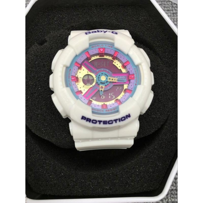 直送CASIO G SHOCK Baby G GA 100 BA 112 7A 電子手錶卡