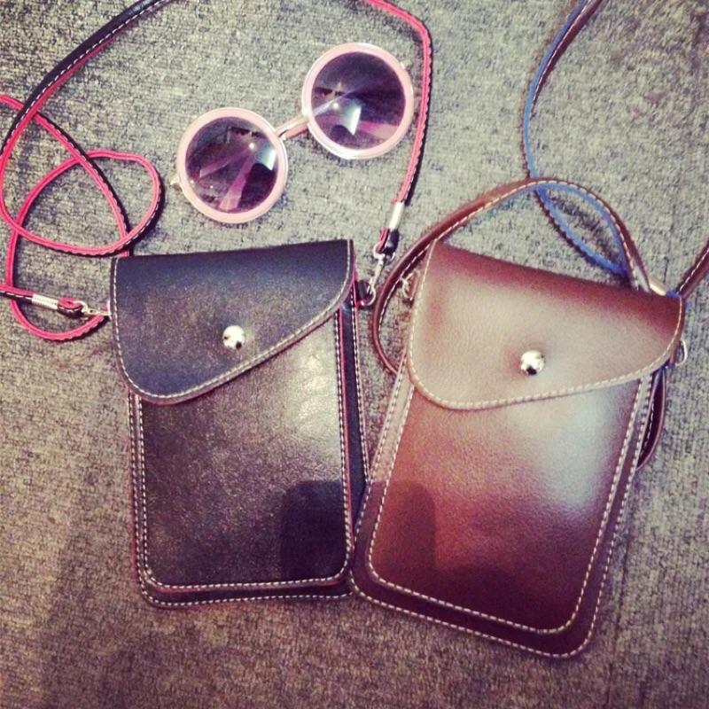 韓國 手機包單肩斜背包小包包迷你大容量手機掛脖零錢包