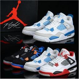 正品NIKE 耐克飛人喬丹AIR JORDAN 4 代籃球鞋aj4 aj11 代 鞋男鞋校