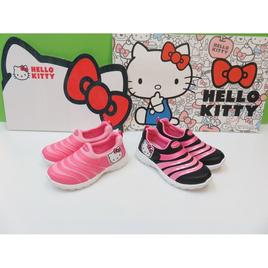 款5 折三麗鷗 hello kitty 懶人鞋圓型迴力柱底18 23 號 990 5 折