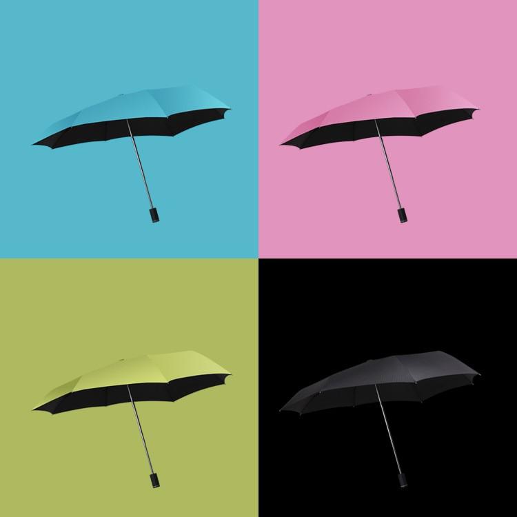 (衝 )梅雨季 不會淋濕肩膀的晴雨傘(背包族 )