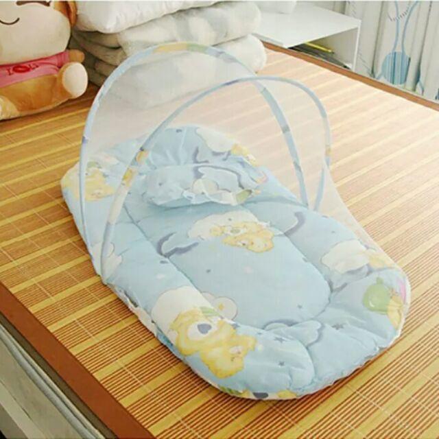 ►嬰兒蚊帳睡墊可摺疊