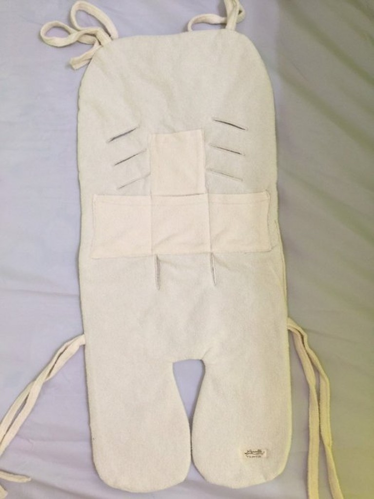 bibishop520 多用途毛巾棉質 型可拆洗坐墊嬰兒手推車汽車安全坐椅寶寶餐椅另售口水