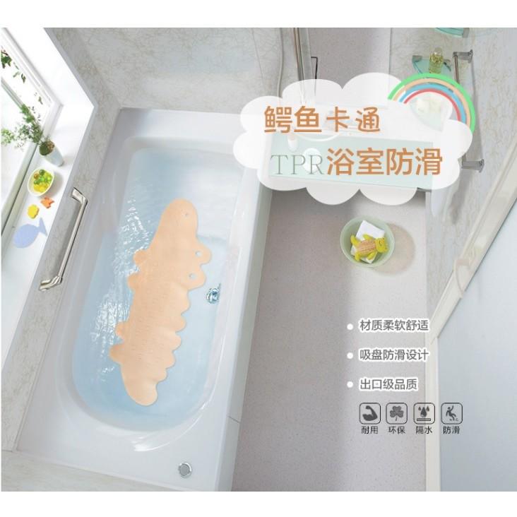 ~浴室防滑墊~浴室防滑墊淋浴防腳墊浴缸防滑墊卡通洗澡墊帶吸盤C017