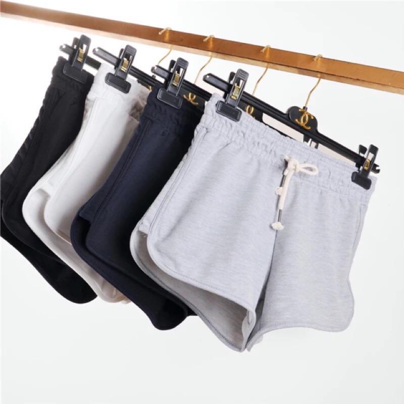 蝦編抗熱暑~ 純棉薄款寬鬆 短褲熱褲居家休閒褲~