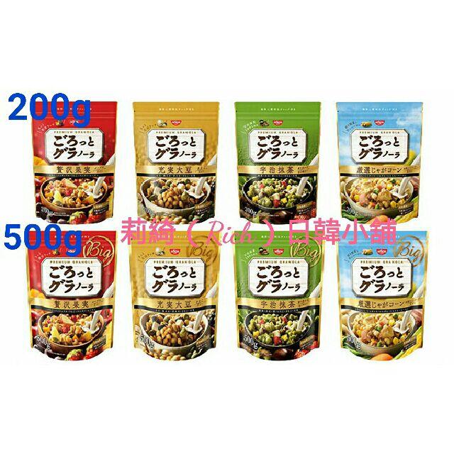4 款 日清穀物早餐麥片200g 500g 2 款(水果麥片馬鈴薯玉米麥片大豆綜合麥片宇治