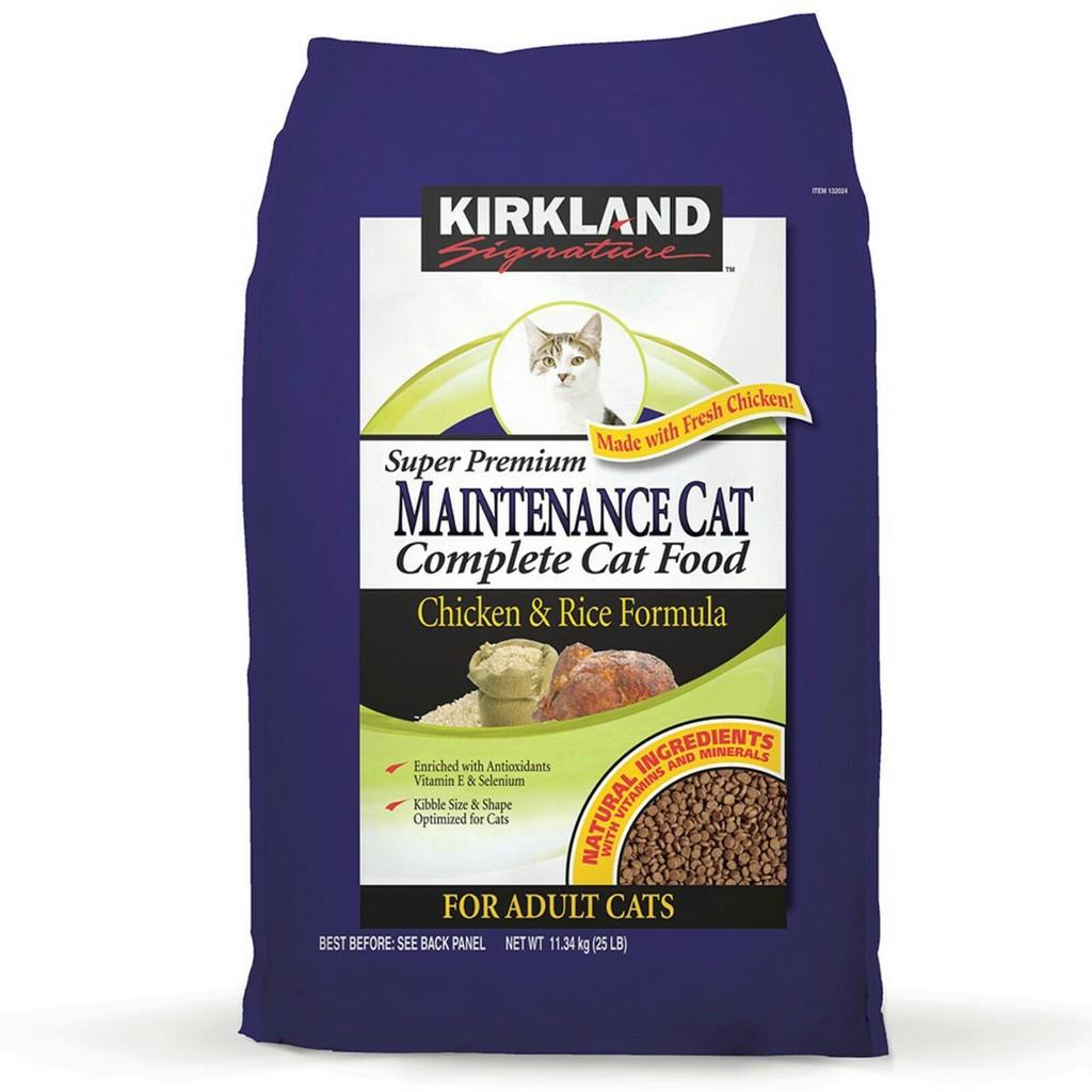 COSTCO 好市多線上 服務Kirkland Signature 科克蘭雞肉米配方乾貓糧