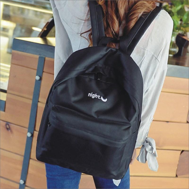 ~ ~~甜心小舖~~防潑水日月星辰後背包~書包側背包可放A4 書本