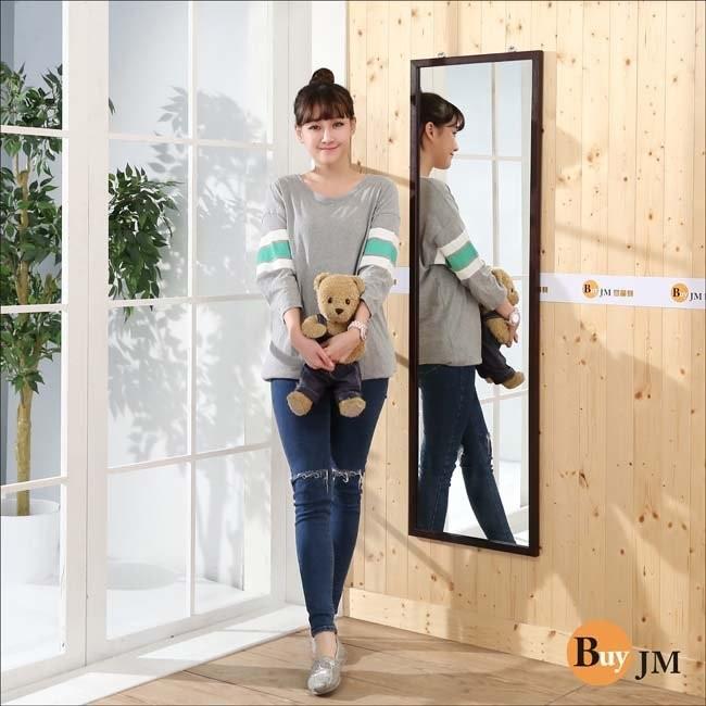 實木壁鏡高140 公分掛鏡穿衣鏡全身鏡~ MR014WA ~