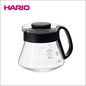 HARIO V60 耐熱玻璃壺1 3 杯用360ml XVD 36B