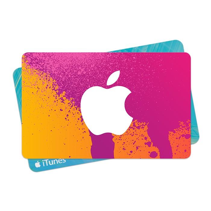 美國Apple iTunes Gift Card 儲值碼10 15 25 30 50 60