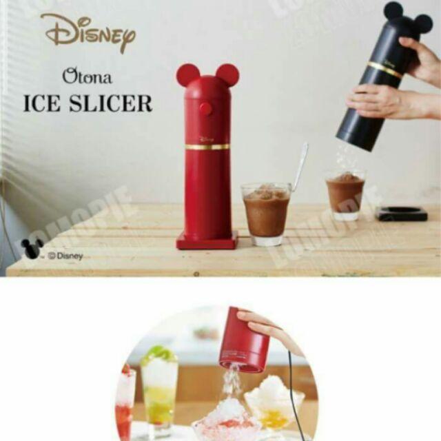 ~ 迪士尼 剉冰機~n ~米奇米妮電動刨冰機製冰碎冰冰塊~