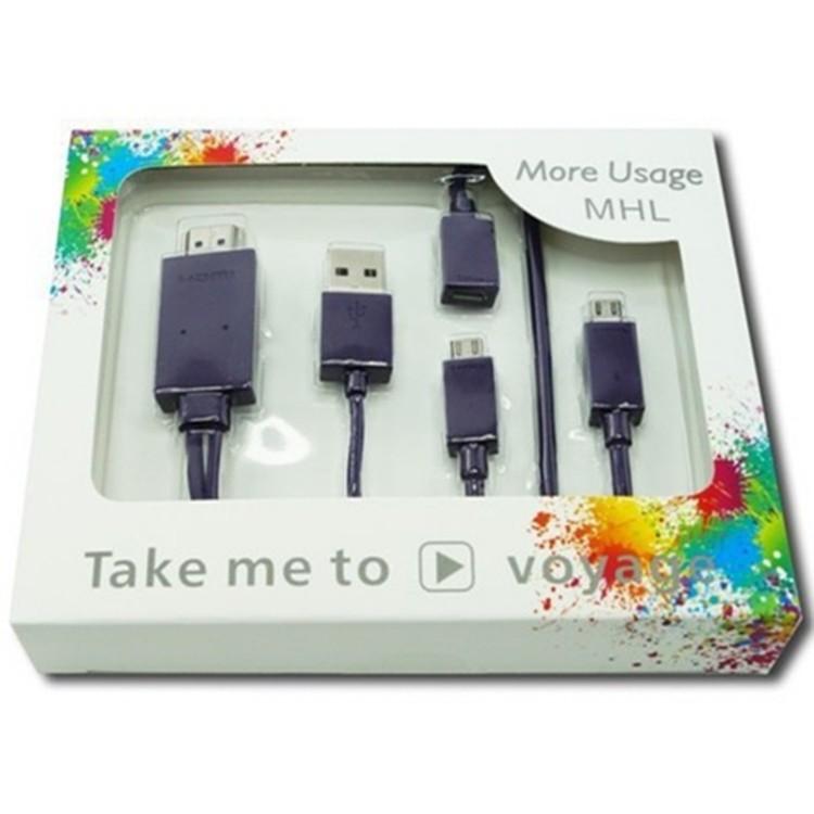 手機影像傳輸MHL 轉HDMI MHL 安卓手機連電視投影儀HDMI