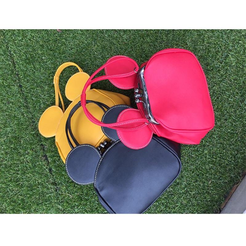 2016 潮 女包可愛 米奇耳朵包鏈條單肩斜挎手提包小包包