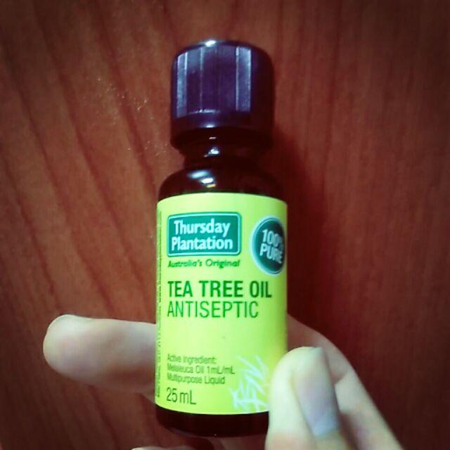 澳洲直購帶回星期四農莊茶樹精油25ml 防蚊蟲叮咬消除腫脹抑菌
