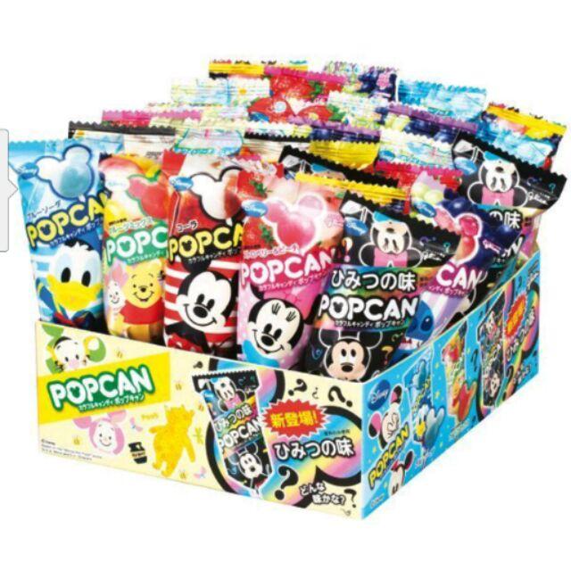 ~ ~~固力果glico POPCAN 迪士尼棒棒糖~整盒30 支 口味可愛 米奇 ~ ~